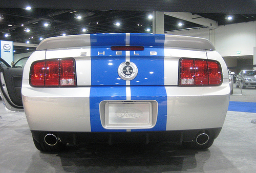Ford Shelby Mustang GT500KR - 2008 por MR38.