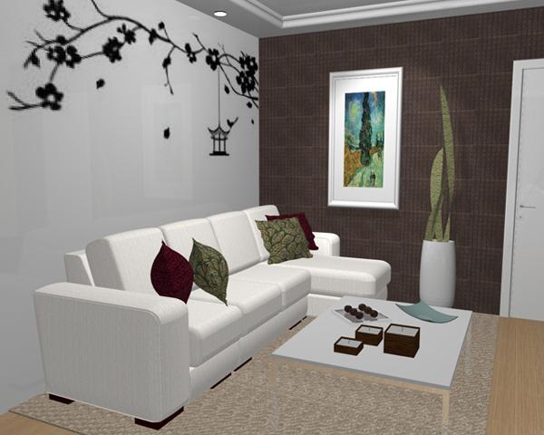 Fotos de apartamentos de luxo decorados como fazer f cil for Como decorar una apartamento pequeno