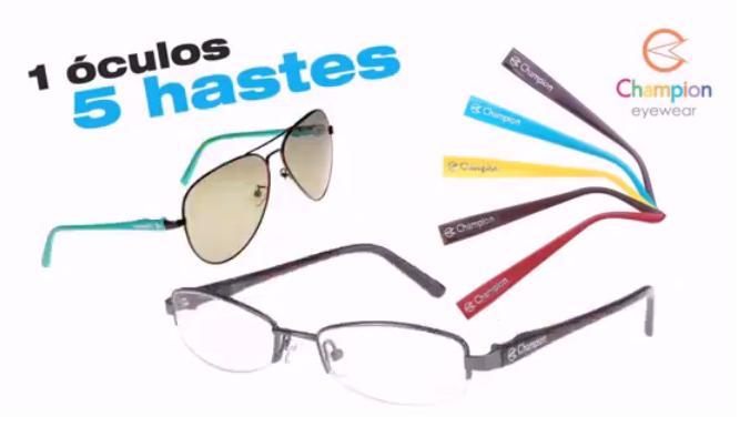 07cd21dcc Os modelos óculos de sol da Champion também são lindos, inovadores e também  com troca hastes para você deixá-lo bem ao seu estilo, ao seu jeito de ser.