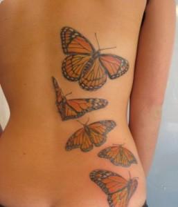 tatuagem-borboletas