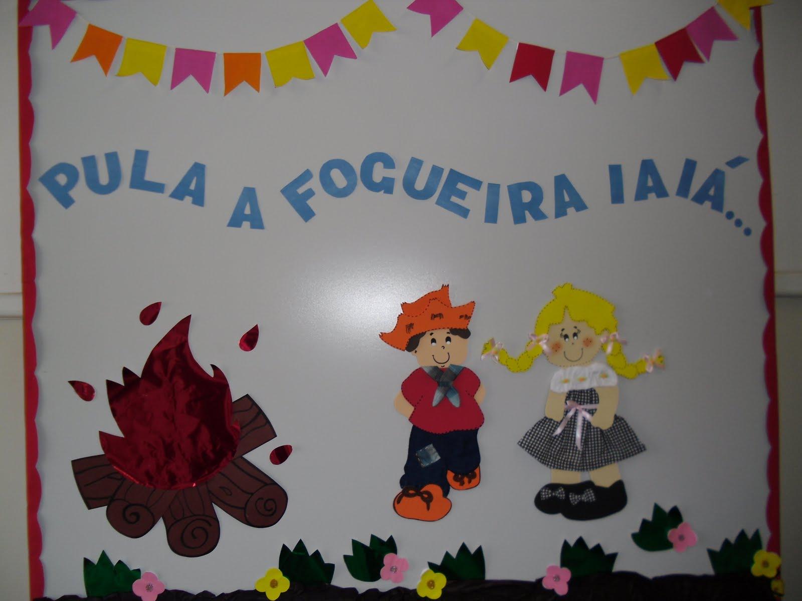 Painel para decoração de festa junina (Foto: divulgação)