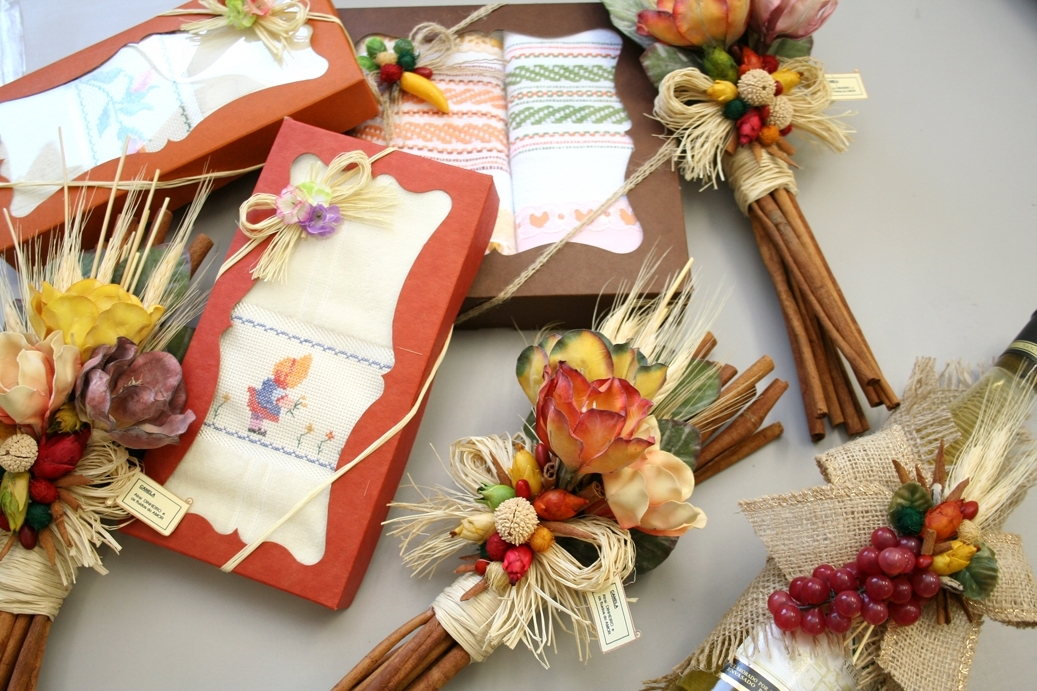 Presentes de artesanato para as maes