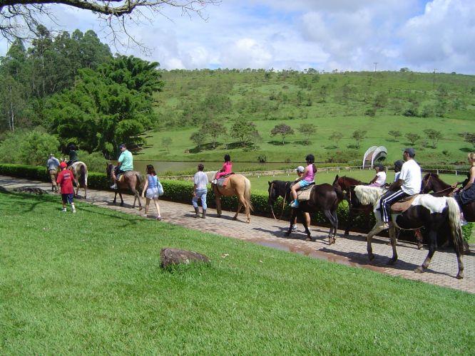A maioria dos Hotéis fazenda fazem passeio a cavalo