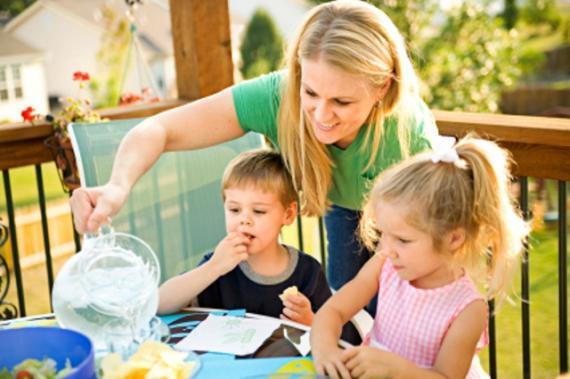 Alimentação equilibrada para crianças