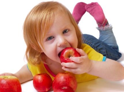 Alimentos infantis para crianças