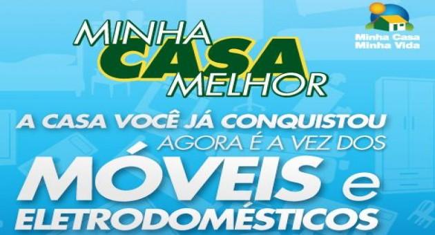 O cartão Minha Casa Melhor vai ajudar milhares de brasileiros a mobiliar a casa nova