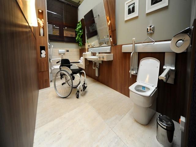 Como adaptar o banheiro para cadeirante1