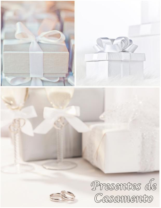Lista de presentes para casamento