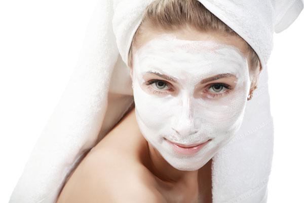 Máscaras caseiras para o rosto