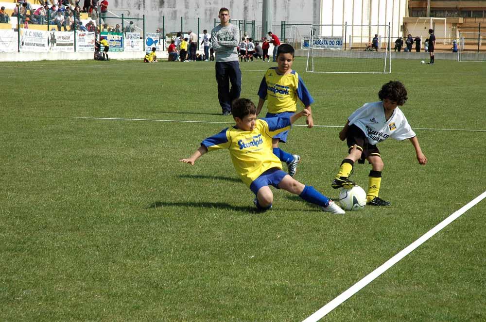 O sonho de muitas crianças é ser jogador de futebol