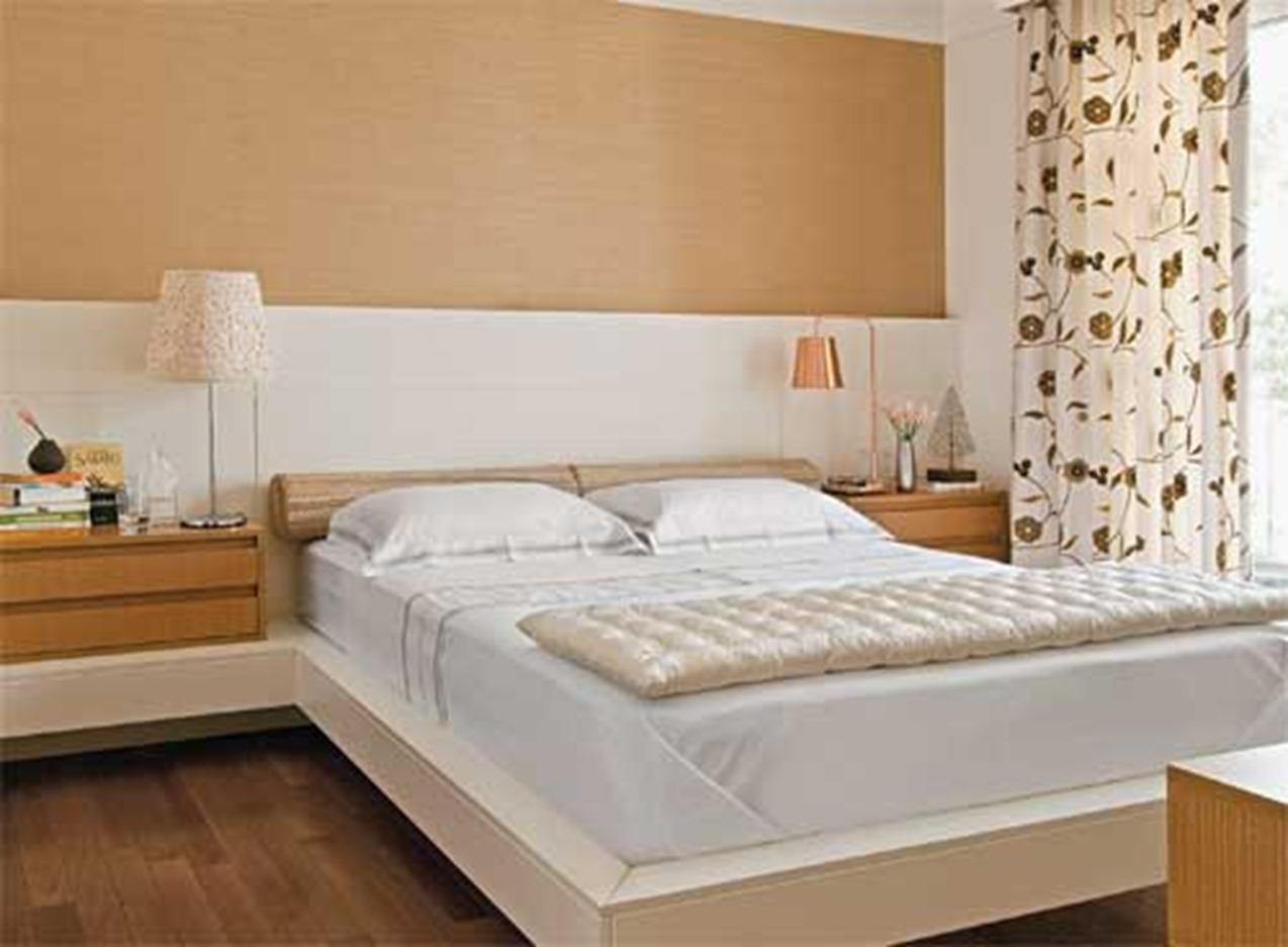 Procure pisos que mantenham a temperatura do quarto e que não sejam frios