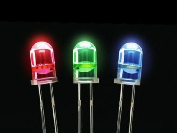 Iluminação de Abajur com leds