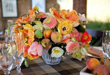 Com qual flor decorar o casamento