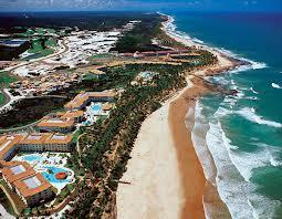 Costa do sauípe é lugar lindo que atrai turistas do mundo todo