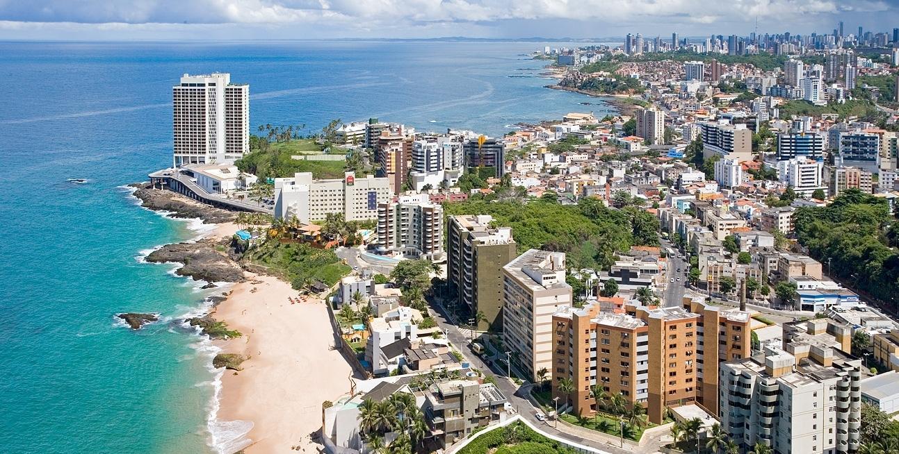 Salvador é um dos destinos mais conhecidos do nordeste