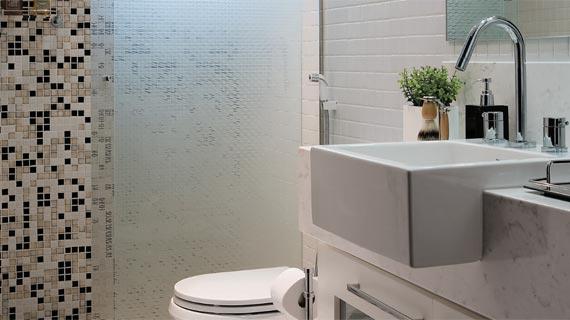 Banheiros com pastilhas, dicas