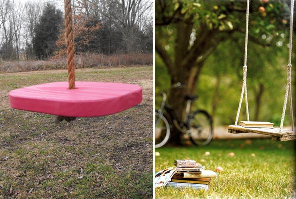 Como fazer balanço no jardim