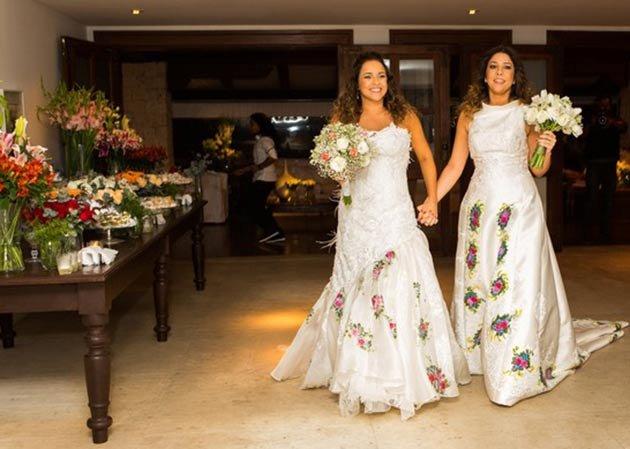 Daniela Mercury se casa com Malu Verçosa