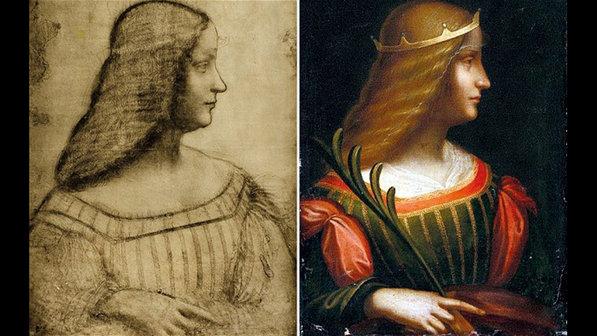 Pintura inédita de Leonardo da Vinci é encontrada na Itália
