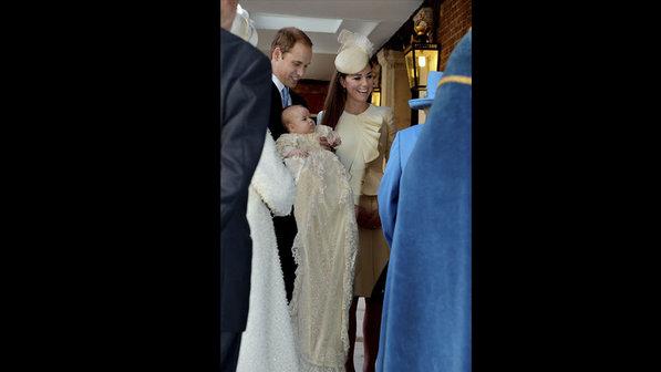 Amiga de Diana está entre padrinhos de príncipe George