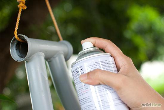 Qual a melhor tinta para pintar a bicicleta?