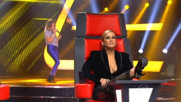 'The Voice Brasil': Claudia Leitte e a arte de imitar poses