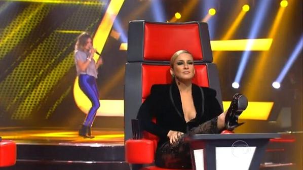 'The Voice Brasil': Claudia Leitte e a arte de imitar poses