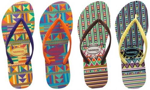novos chinelos havaianas verao