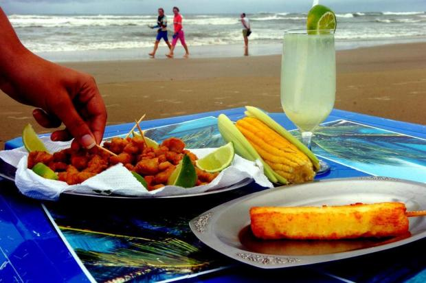 Cuidado com o que come na praia (Foto: divulgação)