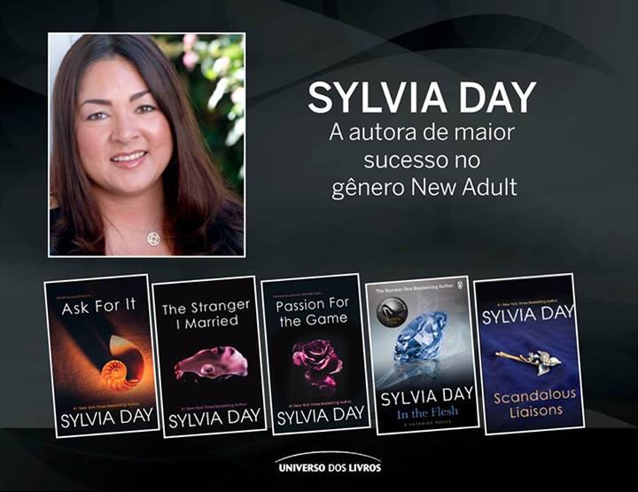 Livros de Sylvia Day (foto: divulgação)