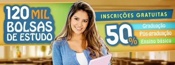 As inscrições no Programa Educa Mais Brasil são gratuitas.