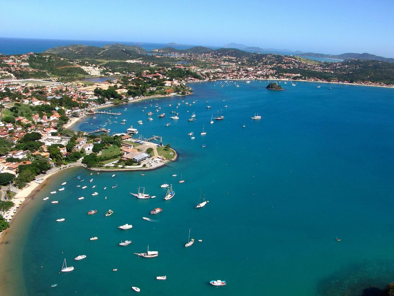 Búzios é o destino de turistas o ano inteiro (Foto: Divulgação)