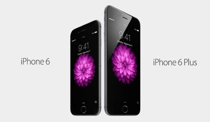 O novo iPhone 6 e o iPhone 6 Plus está muito bonito, maior e muito moderno (Foto: Divulgação)
