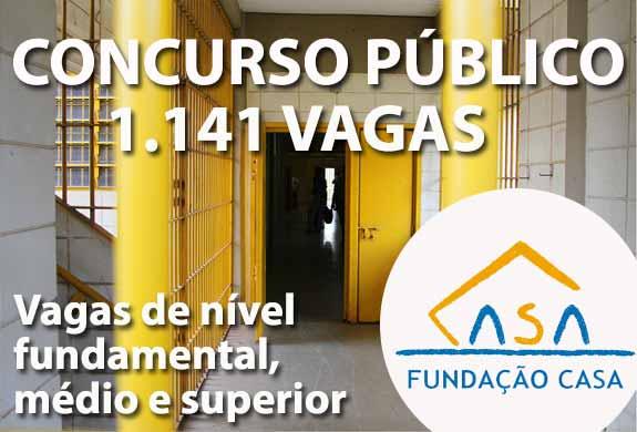 Faça sua inscrição e participe do Concurso Fundação CASA SP 2015
