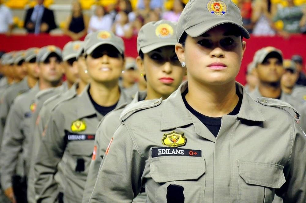 As mulheres também podem participar do concurso da Polícia Militar da Paraíba (Foto: Divulgação)