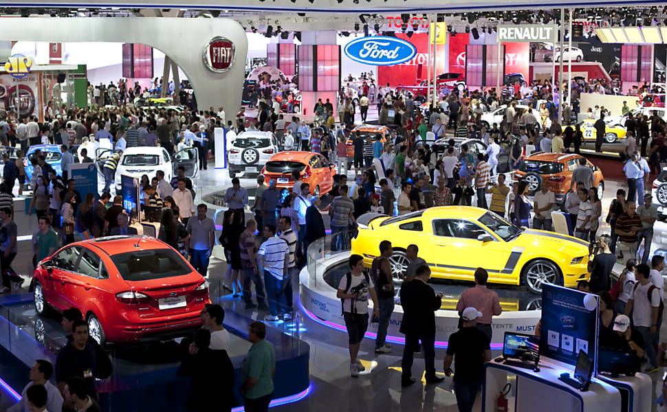 O Salão do Automóvel é um sucesso todos os anos (Foto: Divulgação)