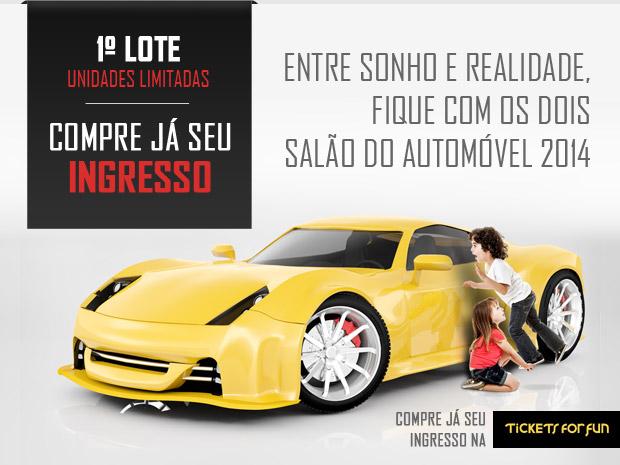 Salão do Automóvel de São Paulo 2014 - Saiba mais sobre o Salão do Automóvel de São Paulo 2014 (Foto: Divulgação)