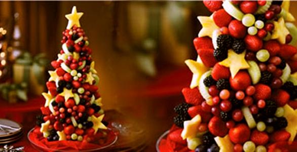 Existem diversos arranjos que você pode fazer com as frutas no réveillon (Foto: Divulgação)