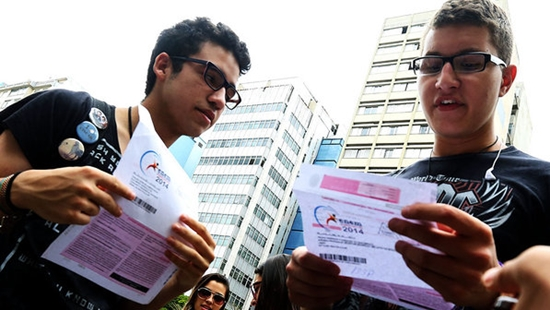Com a nota do Enem 2014 você pode ingressar na faculdade (Foto: Divulgação)