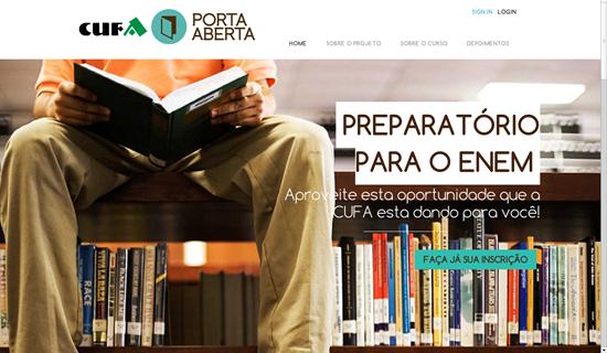 O Projeto Porta Aberta é mais uma iniciativa da CUFA que ajuda muitas pessoas a fazer o supletivo ensino médio online grátis (Foto: Divulgação)