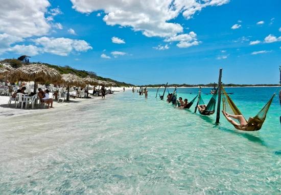 Jericoacoara é um grande paraíso da tranquilidade (Foto: Divulgação)
