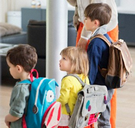 Procure conversar com as crianças antes de sair de casa (Foto: Divulgação)