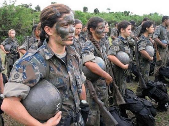 Acesse o site das Forças Armadas para saber mais sobre o alistamento militar feminino (Foto: Divulgação)
