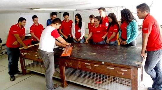 A Usiminas fez uma parceria com o Senai para qualificar os participantes (Foto: Divulgação)