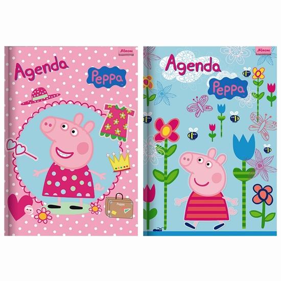 As agendas são com os personagens favoritos das crianças (Foto: Divulgação)