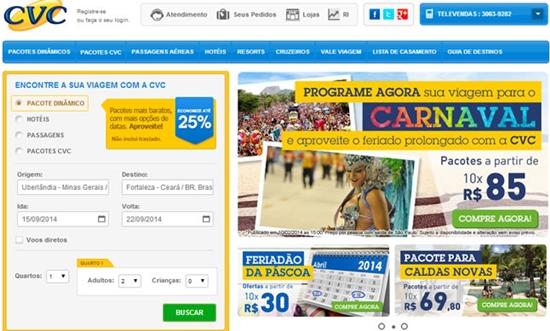 Acesse o site para comprar seu pacote (Foto: Divulgação)