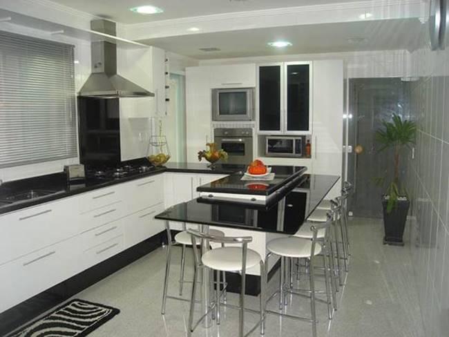 Decoração para cozinhas pequenas 2015 (Foto: Divulgação)