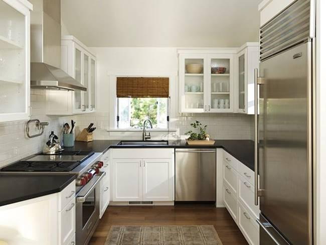 Existem diversos estilos de decoração para cozinha pequena (Foto: Divulgação)