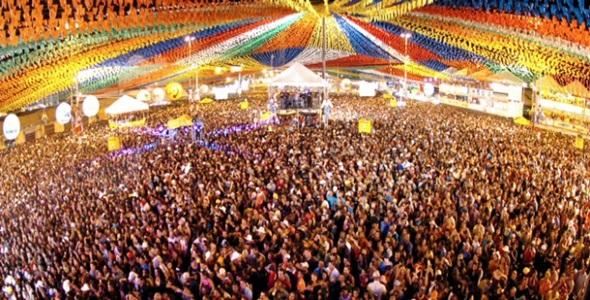 As festas juninas recebem turistas de todo Brasil (Foto: Divulgação)