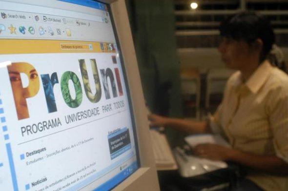 Acesse o site e faça sua inscrição no site do Prouni (Foto: Divulgação)